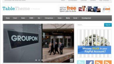 Photo of WordPress Teknoloji ,Magazine ve Haber Sitesi Teması