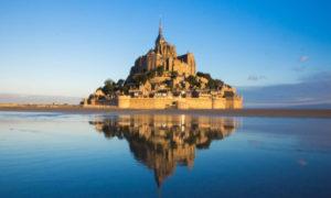 Mont-Saint-Michel,-Fransa