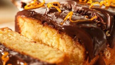 Çikolata Kaplı Portakallı Kek Tarifi