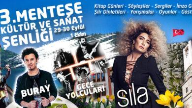 Photo of Muğla'da Sıla, Buray ve Gece Yolcuları Konseri