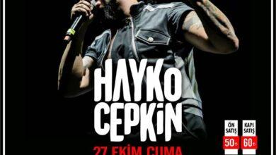Photo of Hayko Cepkin Muğla Konseri 2017