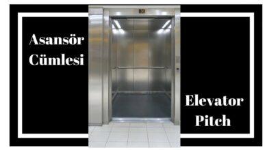 Photo of Asansör Cümleler (Elevator Pitch) Nedir?
