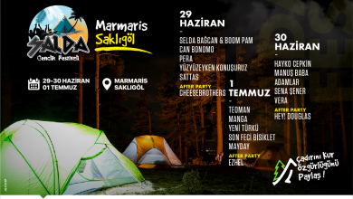 Photo of SaldaFest Marmaris SaklıGöl Gençlik Festivali ,Muğla Marmaris Konserleri