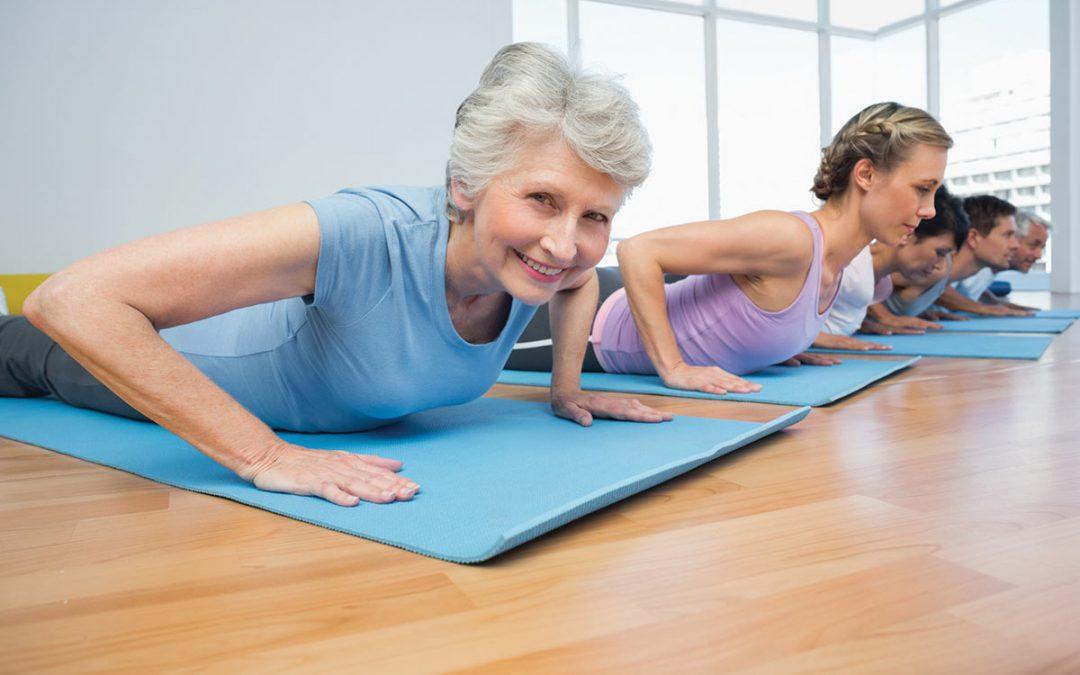 Гимнастика для похудения после 60