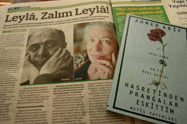 AhmetArif'in aşk şiirleri Ahmet Arif'in Leyla Erbil'e Yazdığı Aşk Mektupları
