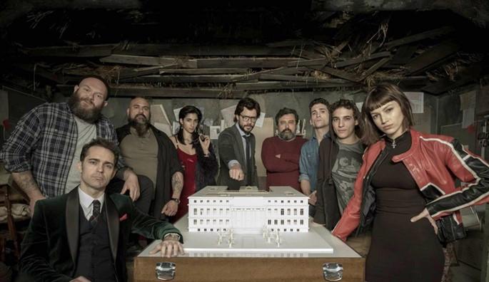 La Casa De Papel Dizi Konusu ve Oyuncuları