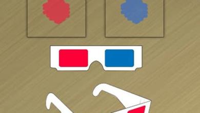 Photo of 3D Gözlük Yapımı! El Yapımı 3 Boyutlu Gözlük