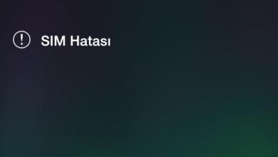 Photo of iOS' de Geçersiz Sim Hatasının Çözümü!